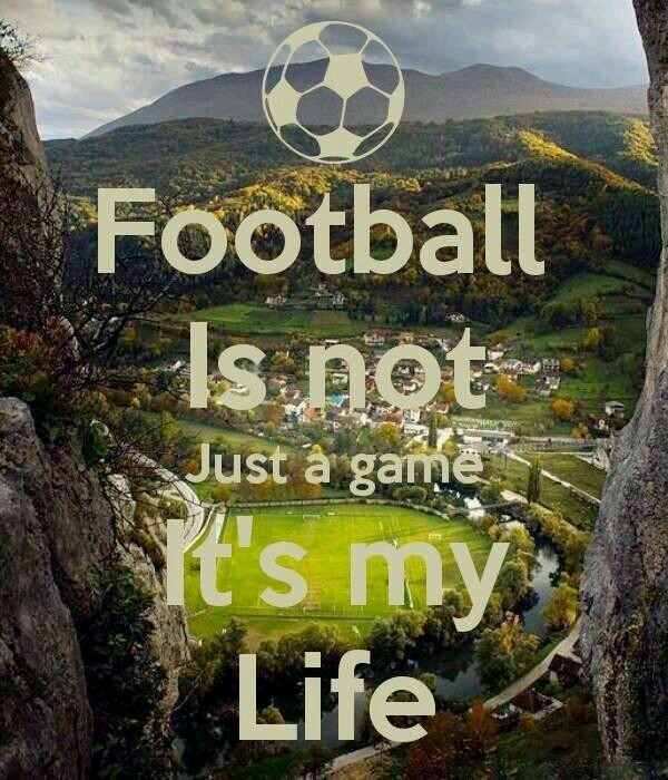football is life essay Essay on football in english , contains all the important and valuable information about the football hobby and its origin and the responsible for its management if you are looking for information about football, you will find here an essay on football in english.