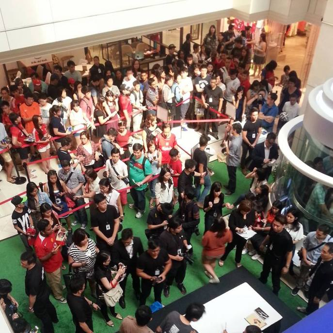 The madness. Pic vis the Wisma Atria Instagram Page.